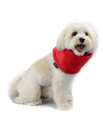 Ruffina.nyc The Snood - Holiday Red