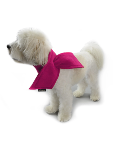 Ruffina.nyc Holiday Scarf - Valentines Pink