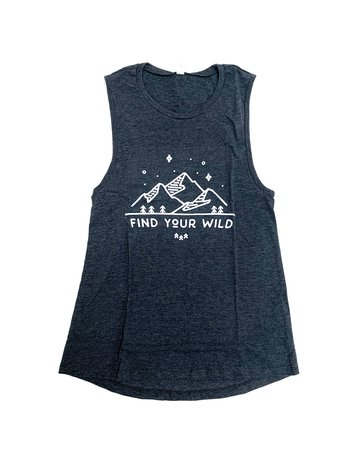The Funnel Cake Tree Find Your Wild Tank Muscle Tank