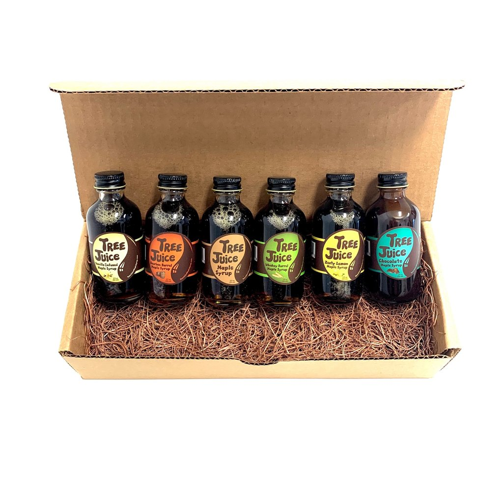 Tree Juice Maple Syrup Mini Variety Pack of Maple Syrup - 2 oz