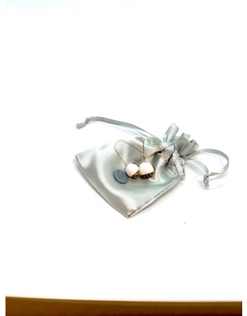 Amare Ware Nature Inspired Collection - Earring - White