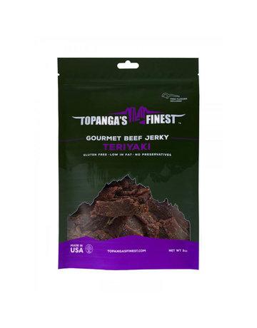 Topanga's Finest Gluten Free Teriyaki Beef Jerky - 3 oz.