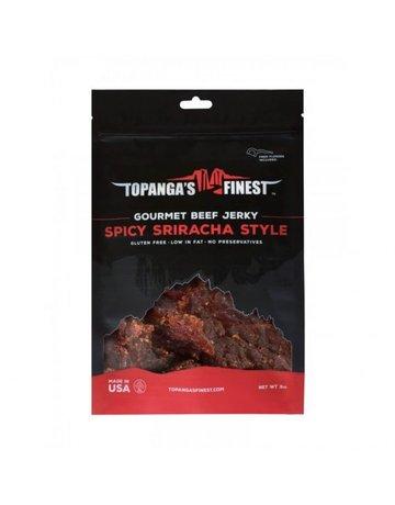 Topanga's Finest Gluten Free Spicy Sriracha Beef - 3 oz.