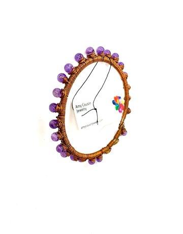 Amy Cousin Jewelry Gemstone Bangle