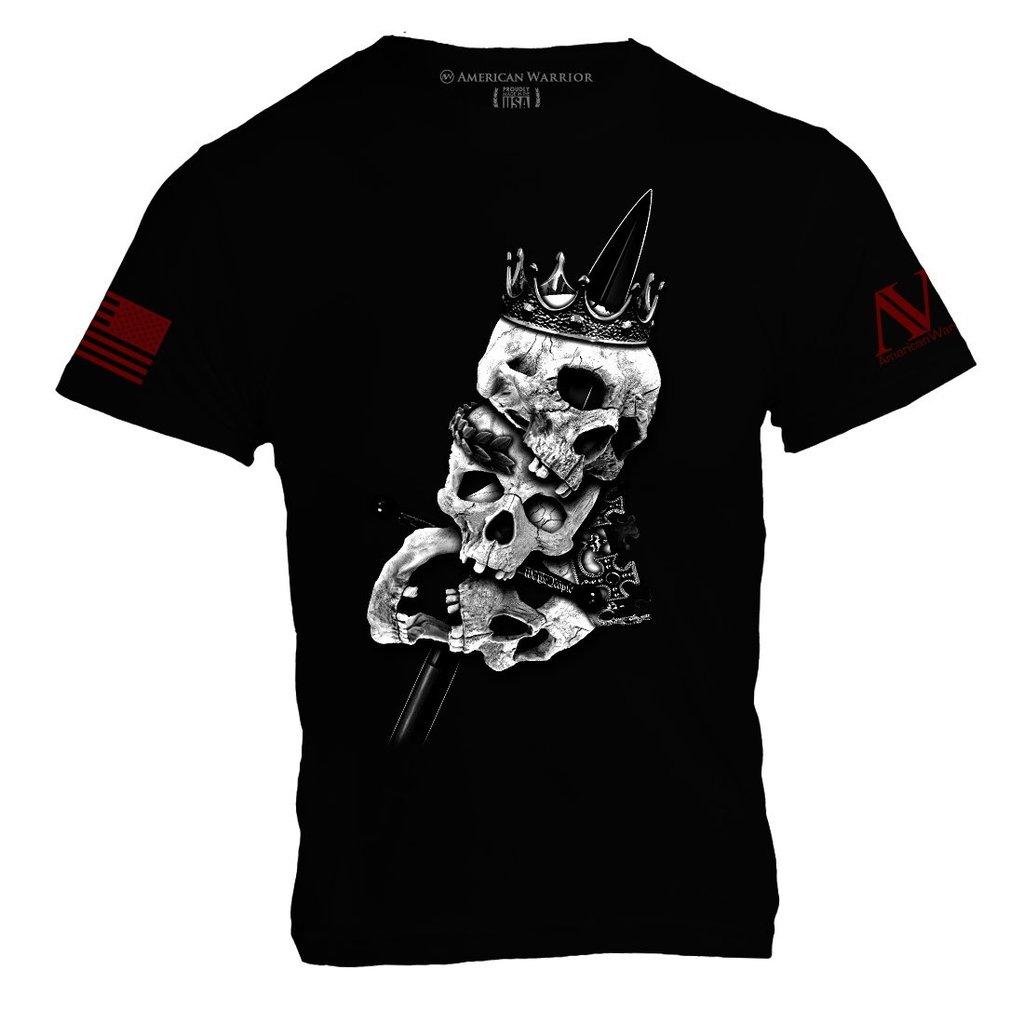 American Warrior Heads of Kings Tee Shirt
