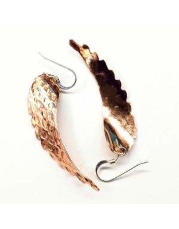 Lexi Butler Designs Copper Angel Wing Earrings