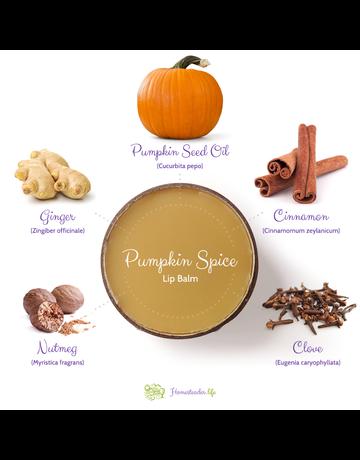 Homesteader.life Pumpkin Spice with Real Pumpkin Lip Balm