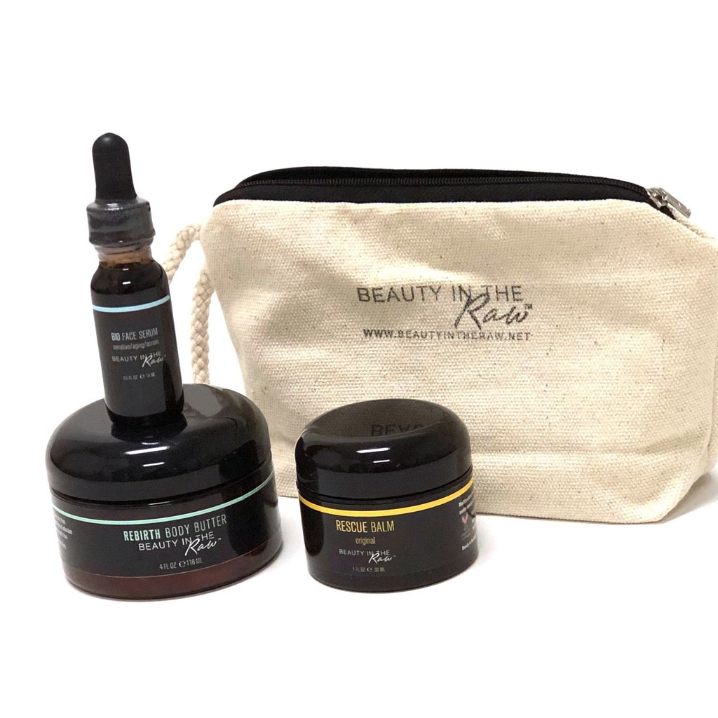 Beauty in the Raw The Originals Skincare Discovery Set - Full Size