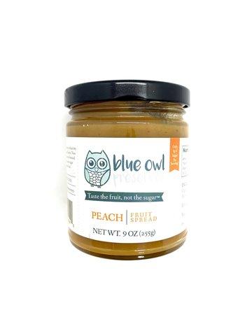 Blue Owl Perserve Peach Fruit Spread - 9 oz.