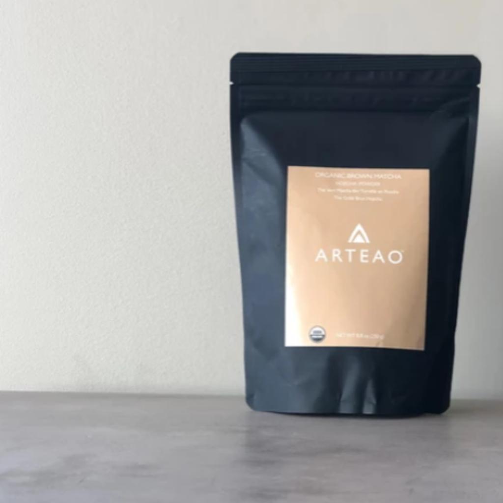 Arteao Organic Brown Matcha - Hojicha Powder 1 oz.