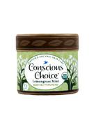 Conscious Choice Lemongrass Mint Organic Body Buttercream - 4 oz.