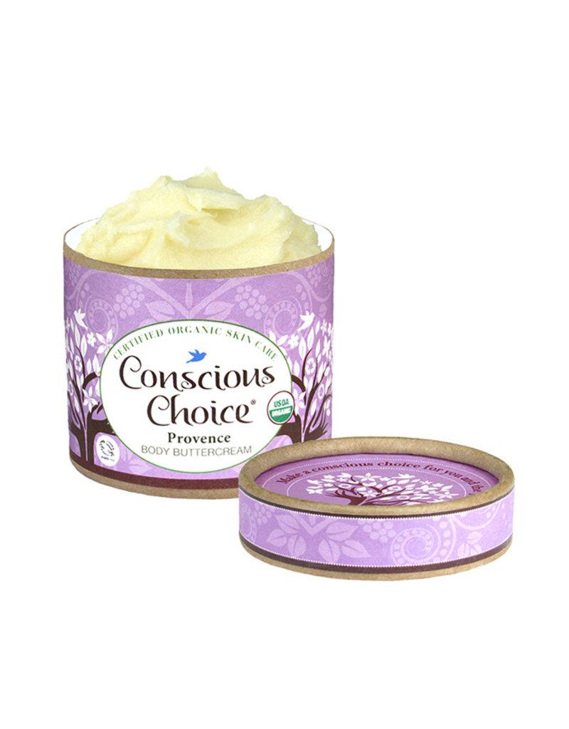 Conscious Choice Provence Organic Body Buttercream - 4 oz.