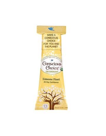 Conscious Choice Limone Fiori Organic Deodorant