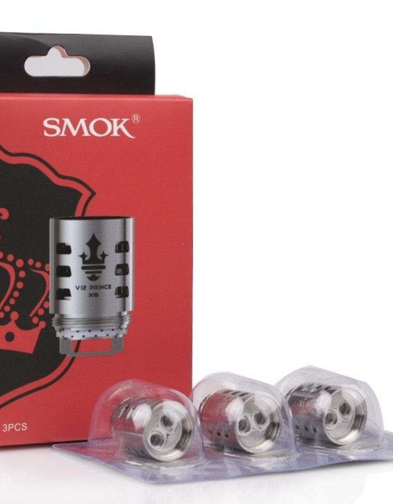 Smok Technology Co. Ltd. TF-V12 Prince X6 Coils .15ohm (3 Pack)