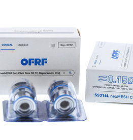 OFRF SS316L 0.15Ohm Coil