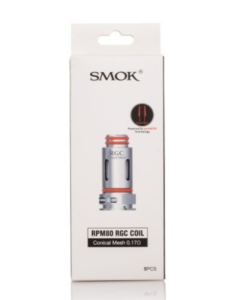 Smok Technology Co. Ltd. RPM80 RGC Coil 0.17Ohm (5 Pack)