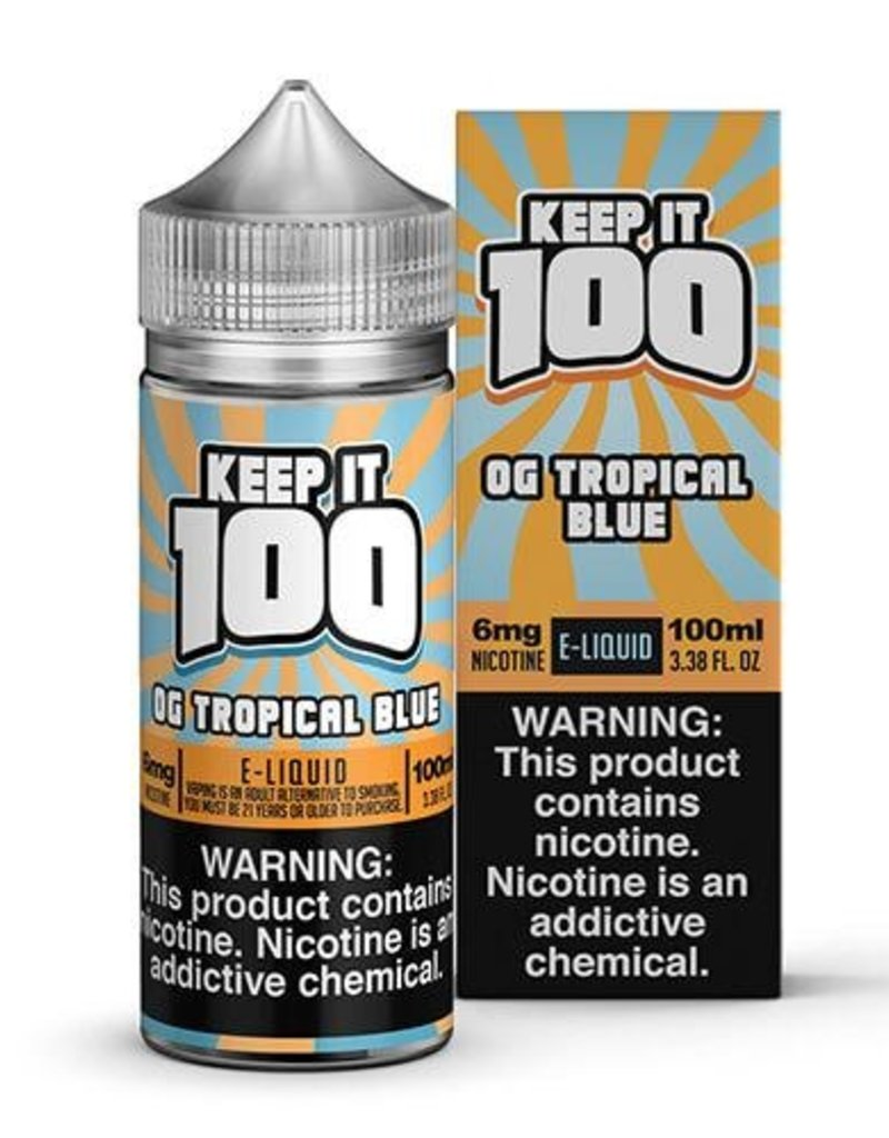 Keep It 100 OG Tropical Blue 100ml 6mg