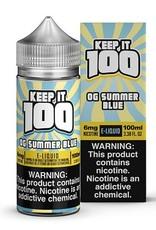 Keep It 100 OG Summer Blue 100ml 3mg