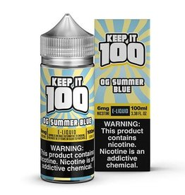 Keep It 100 OG Summer Blue 100ml 3mg