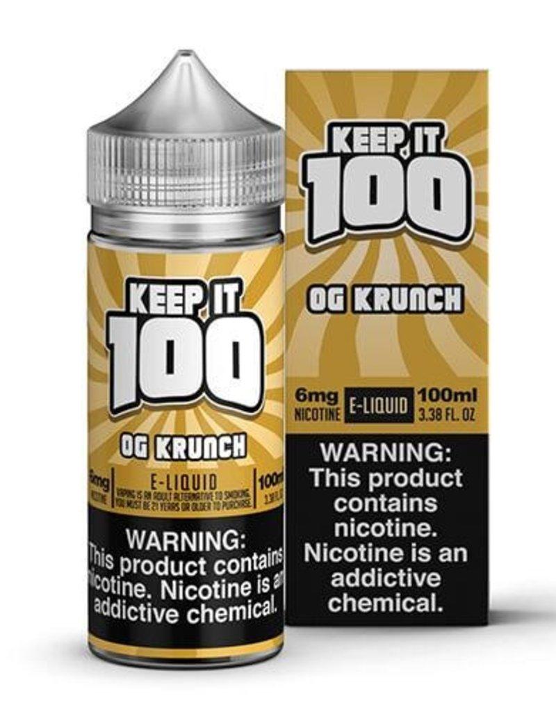 Keep It 100 OG Krunch 100ml 3mg