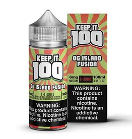 Keep It 100 OG Island Fusion 100ml 6mg