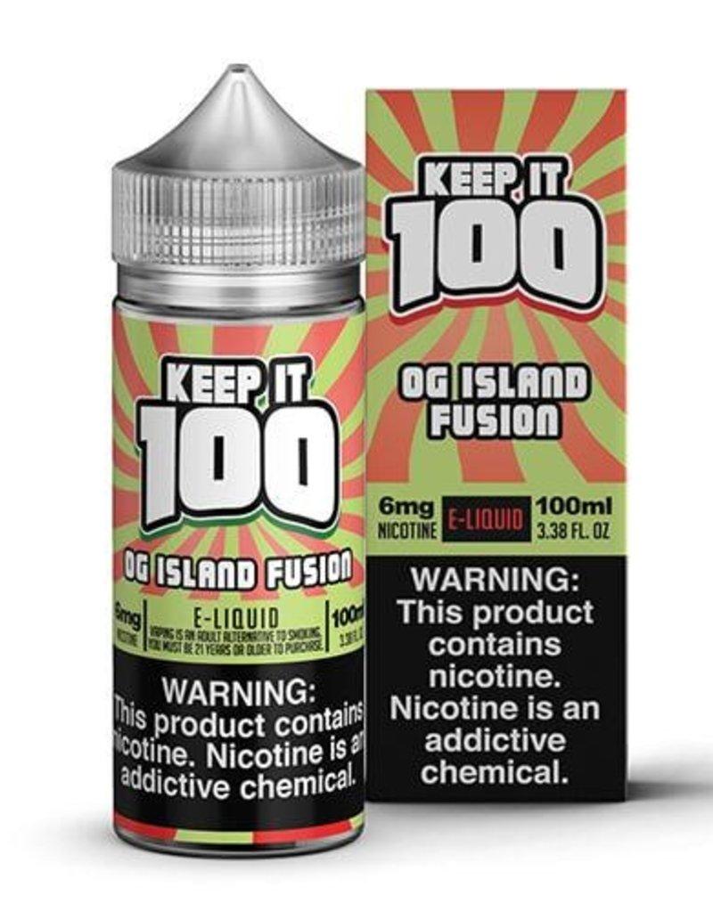 Keep It 100 OG Island Fusion 100ml 3mg