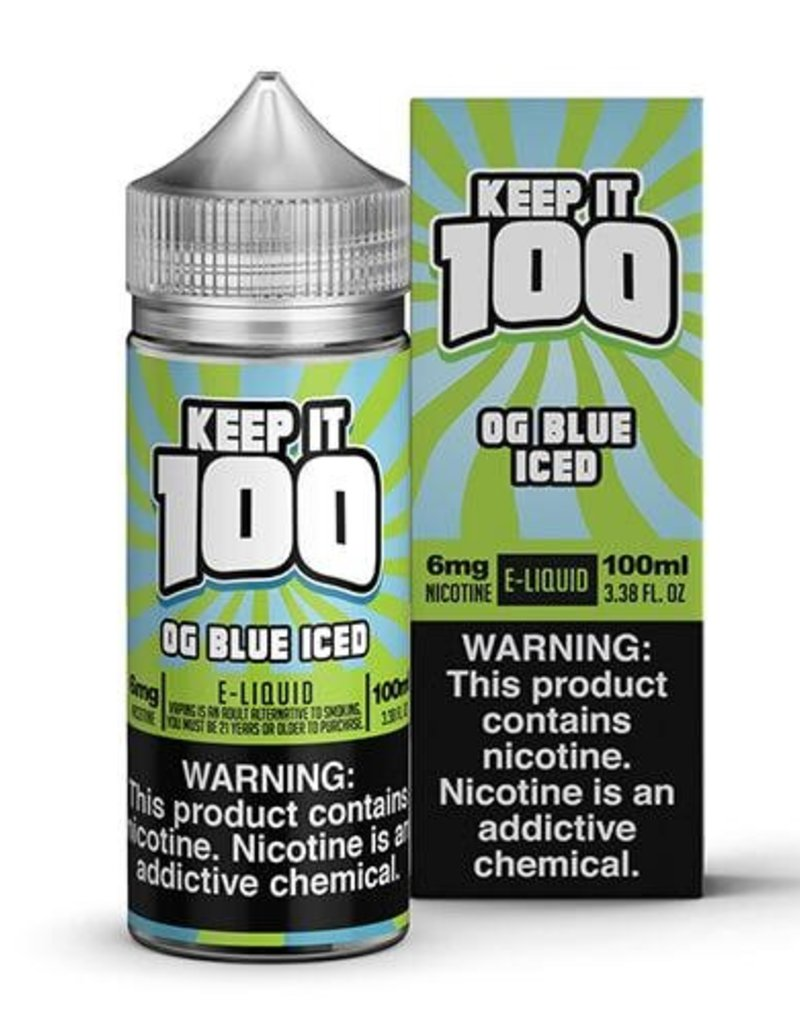 Keep It 100 OG Blue Iced 100ml 3mg