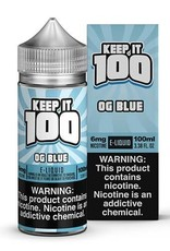 Keep It 100 OG Blue 100ml 6mg