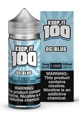 Keep It 100 OG Blue 100ml 3mg
