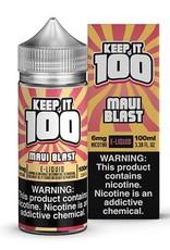 Keep It 100 Maui Blast 100ml 3mg