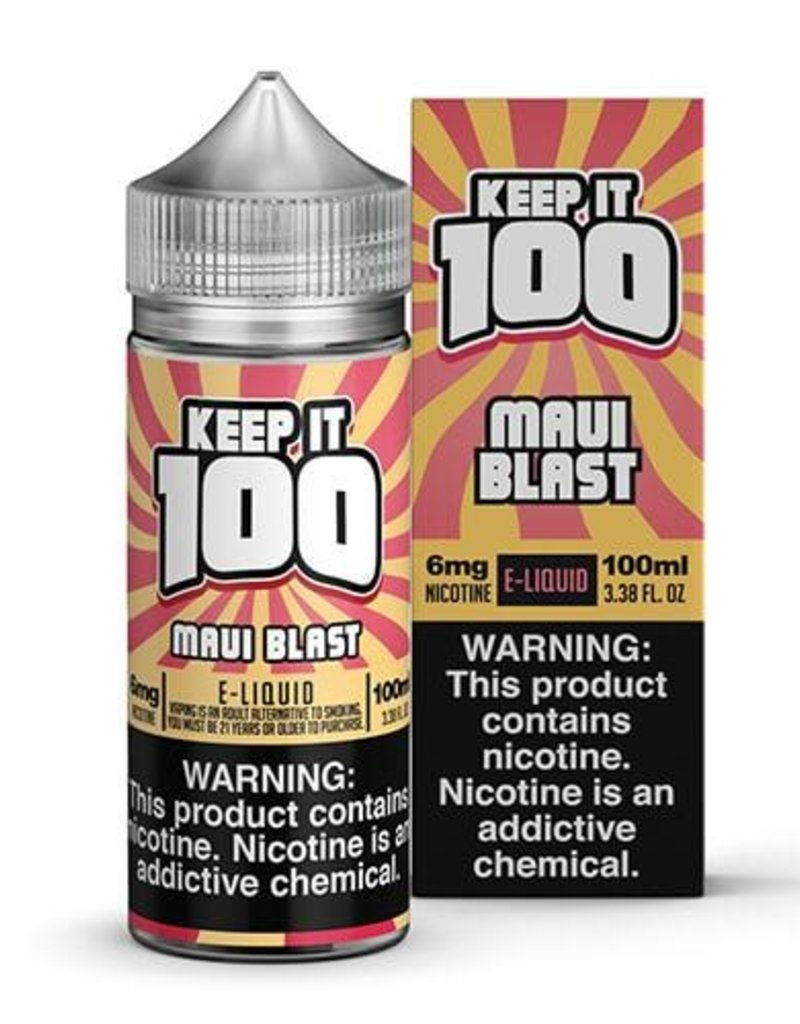 Keep It 100 Maui Blast 100ml 3mg