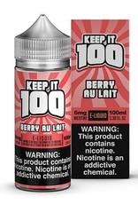Keep It 100 Berry Au Lait 100ml 6mg