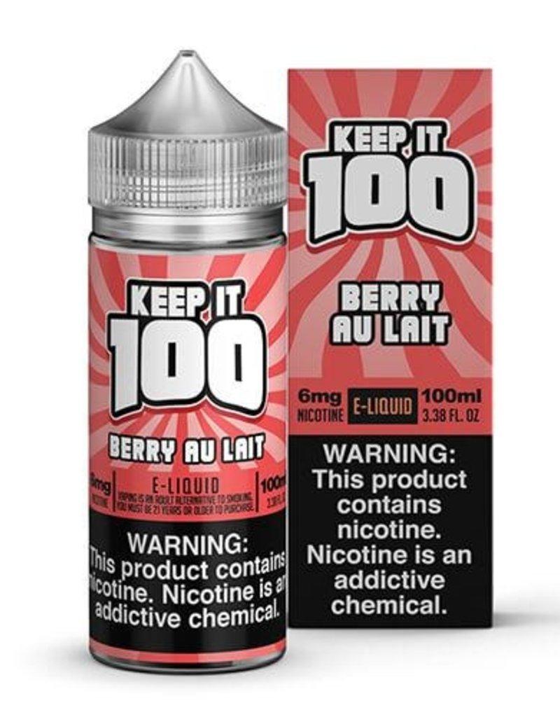 Keep It 100 Berry Au Lait 100ml 3mg