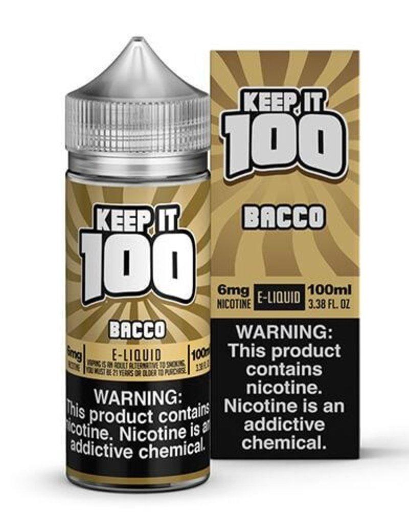 Keep It 100 Bacco 100ml 6mg