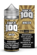 Keep It 100 Bacco 100ml 3mg