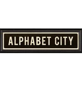SPC ALPHABET CITY SIGN