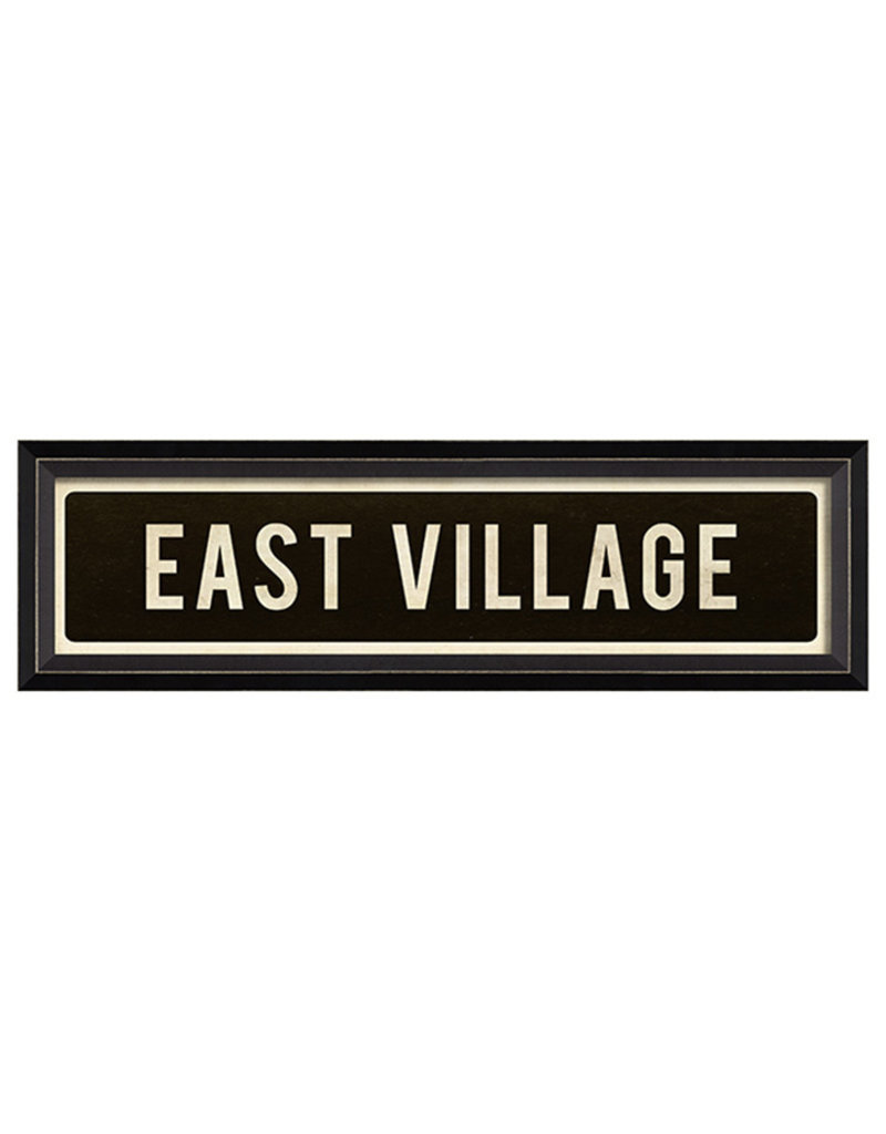 SPC EAST VILLAGE SIGN