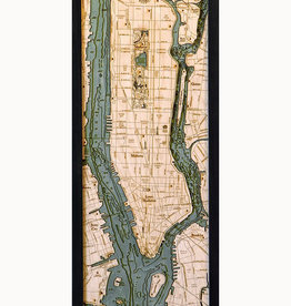 MANHATTAN WOOD CHART