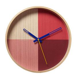 FLOR RED CLOCK