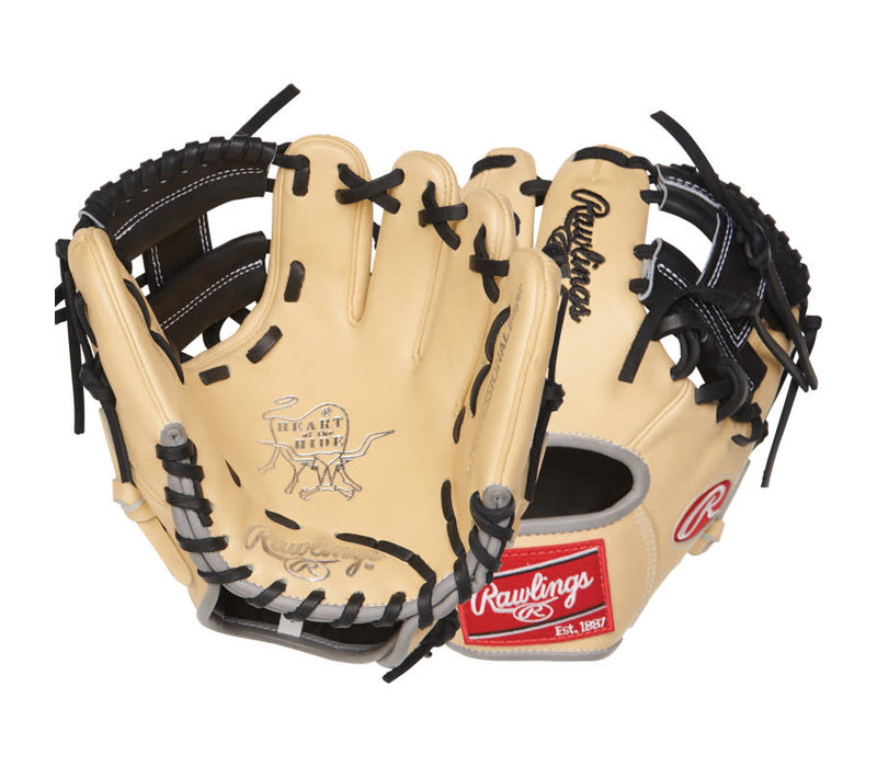 Rawlings 9.5-inch Infield Training Glove - Heart of the Hide