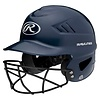 Rawlings Rawlings Coolflo OSFA Batting Helmet w/Cage