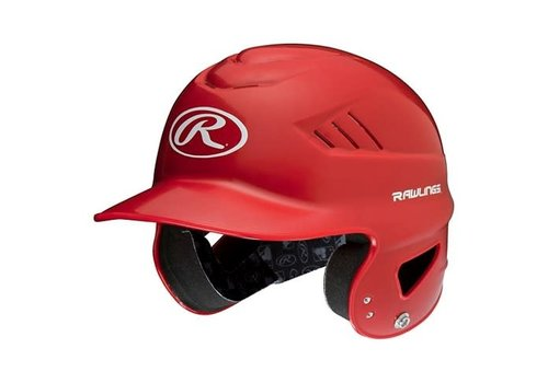 Rawlings Velo Senior Batting Helmet Metallic