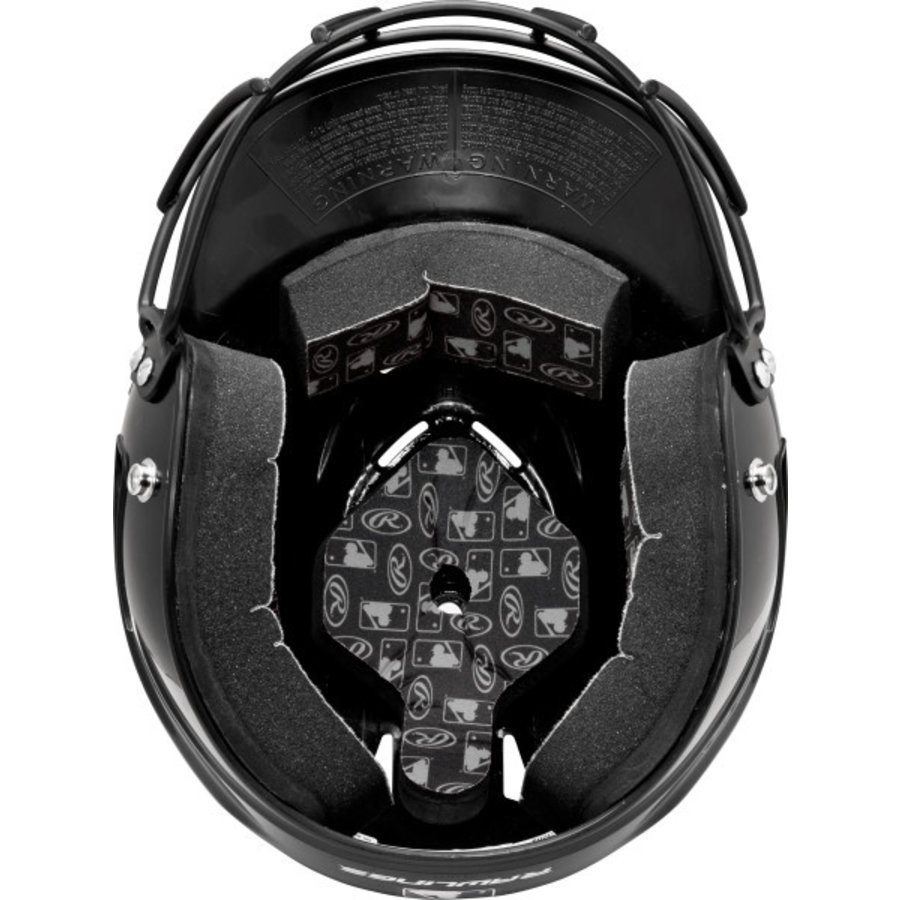Rawlings Coolflo OSFA Batting Helmet w/Cage