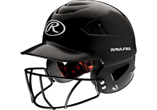 Rawlings Coolflo OSFA Batting Helmet w/Cage