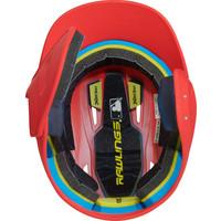 Rawlings Mach Senior One-Tone Batting Helmet w/Flap