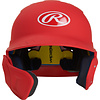 Rawlings Rawlings Mach Junior One-Tone Batting Helmet w/Flap