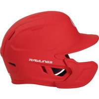 Mach Junior One-Tone Batting Helmet w/Flap