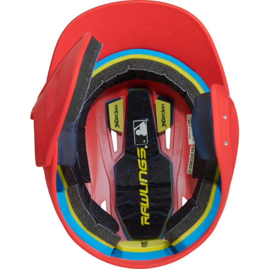 Rawlings Mach Junior One-Tone Batting Helmet w/Flap