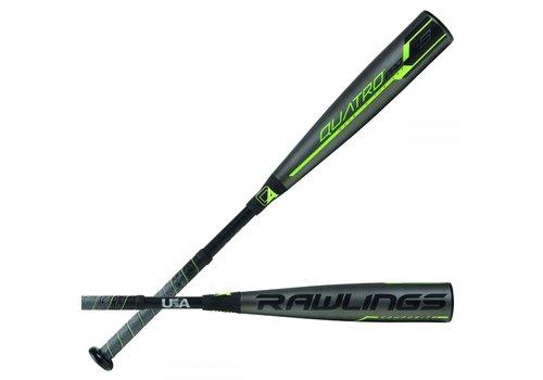 Rawlings 2019 Quatro Pro USA -8 Baseball Bat 29/21