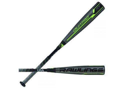Rawlings 2019 Quatro Pro -10 USA Baseball Bat